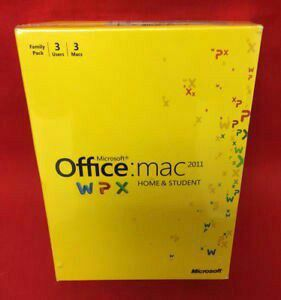 Microsoft Office Home and Student Edition 2011 for Sale in Pembroke Pines, FL