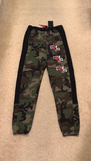 Brand new Nike air Jordan camo joggers pants sweats men's size XS for Sale in El Cajon, CA