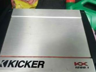 Kicker KX1200.1 1200 Watts @ 2 Ohms Rms for Sale in Strongsville,  OH