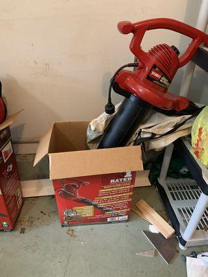 Toro leaf blower/vacuum for Sale in Matawan, NJ