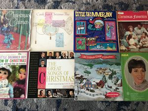 Christmas themed vinyl record lot (8) for Sale in Santa Monica, CA