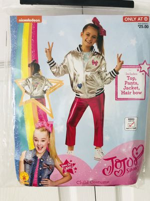 New Jojo Siwa Siwanator Squad Halloween Costume . Size Small (4-6) for 3-4 Years Old(pick up only) for Sale in Springfield, VA