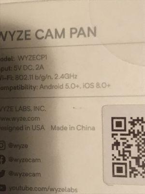 Wyze cam 1080p HD indoor camera for Sale in Peoria, AZ