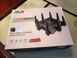 Brand new Gaming Router (Asus RT-AC5300 Tri-Band) for Sale in Anaheim, CA