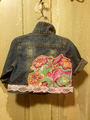 OOAK Machine Washable Embellished Baby Denim Jean Jacket for Sale in Philadelphia, PA