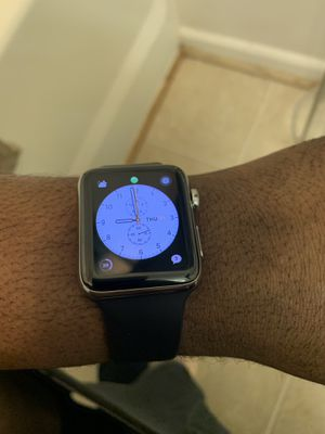 Stainless steel Apple Watch LTE 42mm series 3 for Sale in Washington, DC