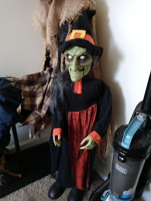 Animatronic witch for Sale in Rockwood, MI