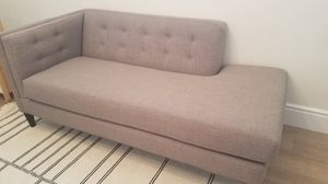 Gray chaise sofa for Sale in Scottsdale, AZ
