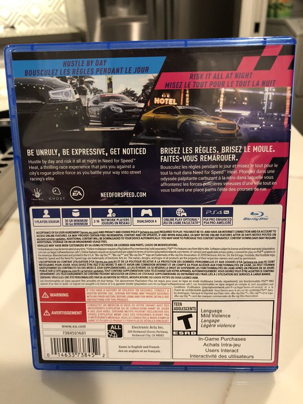 NFS HEAT PS4 Need For Speed