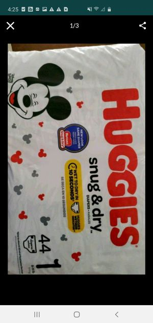 Huggies size 1 for Sale in Fort Myers, FL