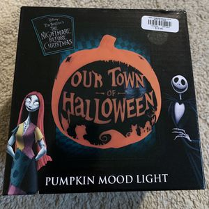 Nightmare Before Christmas Pumpkin Mood Light for Sale in Houston, TX