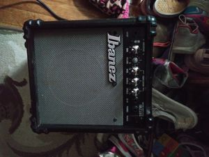 Ibanez IBZ10G practice amp with aux cord included for Sale in Ephrata, PA