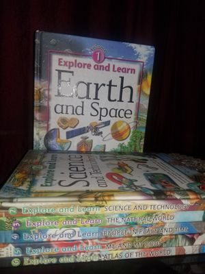 explore and learn books vol 1 to 6 for Sale in Gaithersburg, MD