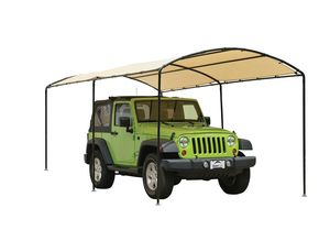ShelterLogic Monarc Canopy, 9 x 16 ft, Waterproof and Durable Outdoor Canopy with Sandstone Cover for Sale in Easley, SC