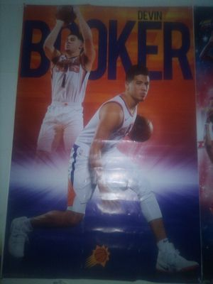 2018 NBA #1 DEVIN BOOKER PHOENIX SUNS POSTER for Sale in Tempe, AZ