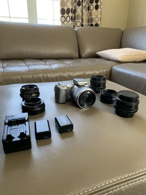 HUGE Sony 5N Mirrorless Camera Collection w/ Lens, Battery, Adapter, Charger and More for Sale in Aurora, IL