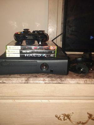 Black Xbox 360 S (Slim) for Sale in Hermon, ME