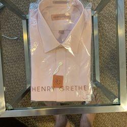 Henry Grethel Dress Shirt 17-34/35 Regular Fit for Sale in Washington,  DC
