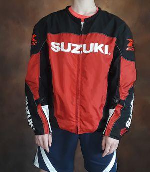 Suzuki Motorcycle Jacket for Sale in Battle Ground, WA