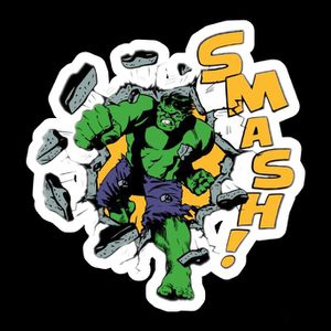 Hulk smash decal marvel for Sale in Columbia, MO