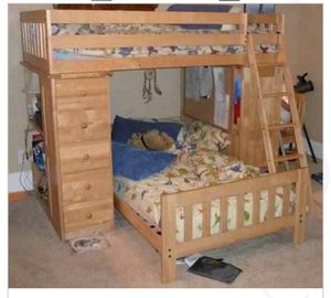 Bunk Bed with Desk for Sale in Greer, SC