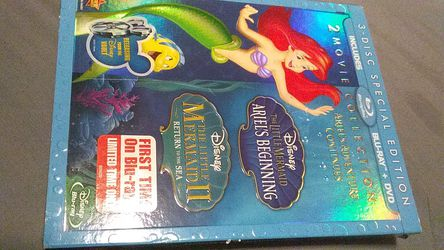 3 disc special edition includes Blu-ray and DVD 2 movie collection for Sale in Yakima,  WA