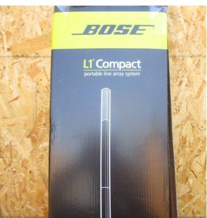 Bose L1 speakers only