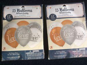 2 New packs love balloons for Sale in Portsmouth, VA