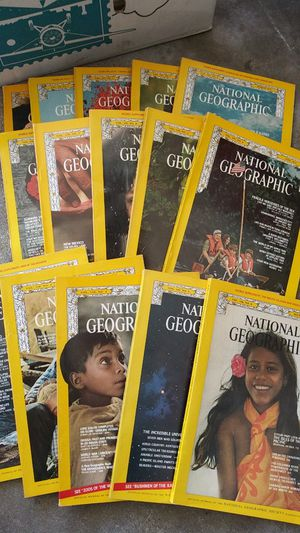 17 National Geographics 1970s for Sale in Rancho Cucamonga, CA