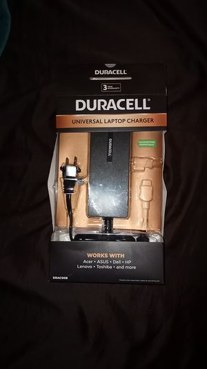 Duracell Universal Laptop Charger for Sale in Dallas, TX