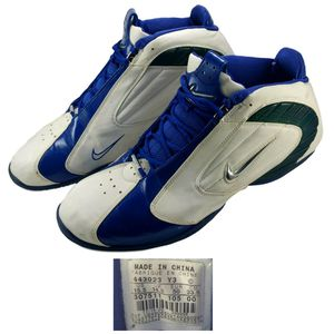 Men's Size 15.5 Nike Air Zoom Basketball Shoes 307511-102 for Sale in Willowbrook, IL