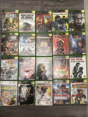 Original Xbox games for Sale in Corona, CA