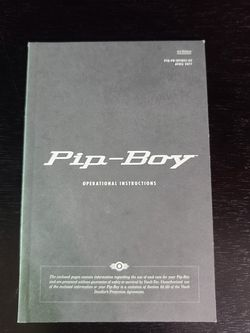 Fallout 4 Pipboy 3000 Operating Manual for Sale in Mesa,  AZ