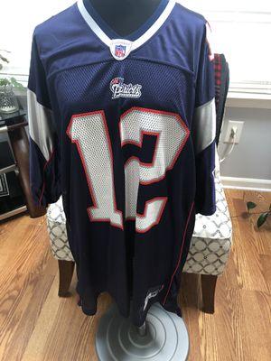 Patriots jersey size 2xl. Brady for Sale in Flemington, NJ