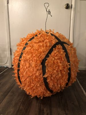 Basketball birthday party piñata for Sale in La Habra, CA