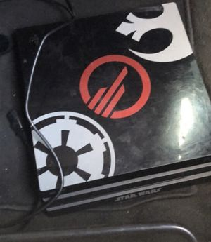 PS4 pro Star Wars edition for Sale in Wichita Falls, TX