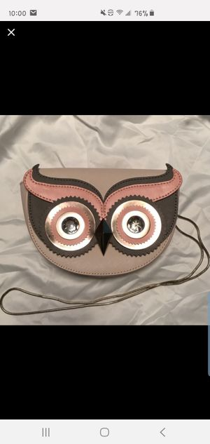 Kate spade owl crossbody for Sale in Plainville, CT