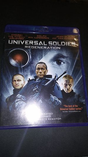 Universal soldier regeneration Blu-ray DVD for Sale in Sprouses Corner, VA