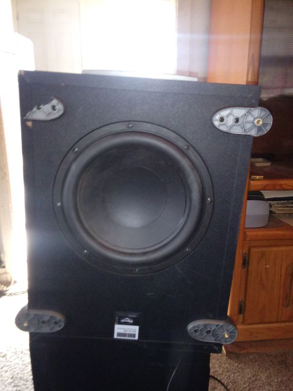 Low bass subwoofer