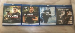 Jason Bourne Blu Ray Collection, 1-4 for Sale in Palm Beach Gardens, FL