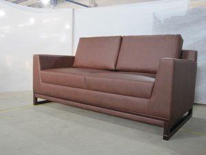 BRAND NEW // Aquila Dark Brown Leather Loveseat for Sale in Tamarac, FL