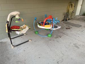 Baby walker, rocker, etc for Sale in St. Petersburg, FL