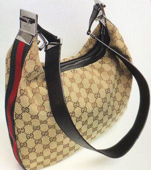 Gucci web monogram shoulder Hobo bag for Sale in Castro Valley, CA