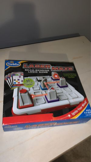 Laser maze puzzle game by Thinkfun for Sale in Beaverton, OR