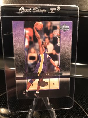 2004 Upper Deck Rookie Exclusives Kobe Bryant NBA Basketball Card - Authentic Lakers Black Mamba Jersey 8 Collectible - RARE - $18 OBO for Sale in Carlsbad, CA