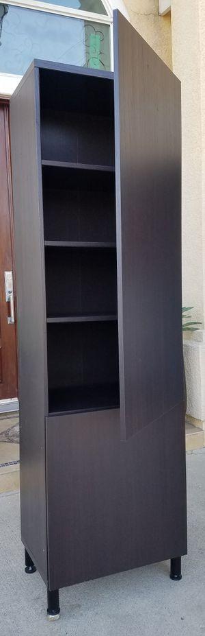 Beautiful Ikea Double Door BESTA Storage Display Pantry Kitcken Bath Curio Stand Unit + Adjustable Shelves for Sale in Monterey Park, CA