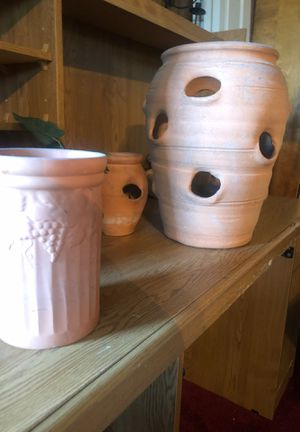 Flower pot's for Sale in Durham, NC