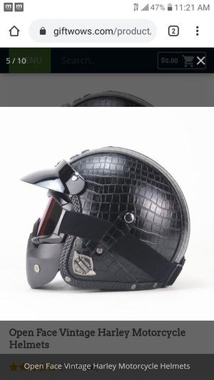 Original Harley Davidson Helmet for Sale in High Point, NC