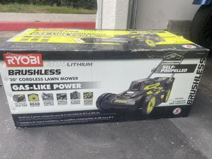 Ryobi lawnmower for Sale in Murrieta, CA