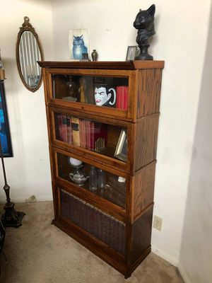 Vintage barristers bookcase for Sale in Los Angeles, CA